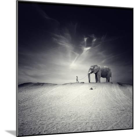 Walk with Me-Luis Beltran-Mounted Photographic Print