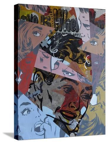 Love Is Where-Dan Monteavaro-Stretched Canvas Print