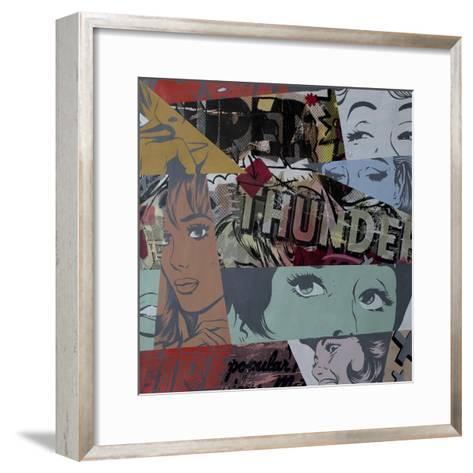 Super Thunder-Dan Monteavaro-Framed Art Print