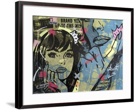 New Dramatic-Dan Monteavaro-Framed Art Print