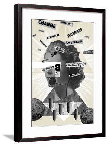 Words Of Mass Destruction-Elo Marc-Framed Art Print