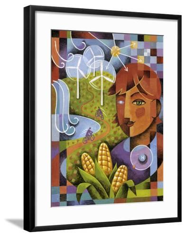 Alternatives-Jim Dryden-Framed Art Print
