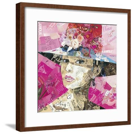 Girl Next Door-Ines Kouidis-Framed Art Print