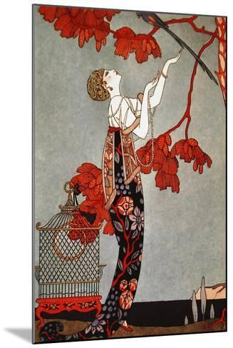 1914 Oriental Red, George Barbier-Vintage Apple Collection-Mounted Giclee Print