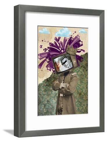 Queen And King-Elo Marc-Framed Art Print
