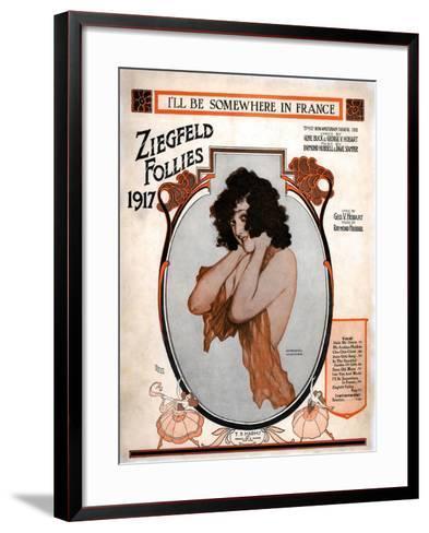 Zig 005-Vintage Apple Collection-Framed Art Print