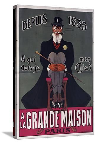 Grand Maison Paris-Vintage Apple Collection-Stretched Canvas Print