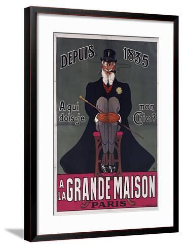 Grand Maison Paris-Vintage Apple Collection-Framed Art Print
