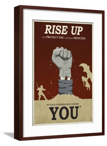 Rise Up-Steve Thomas-Framed Art Print