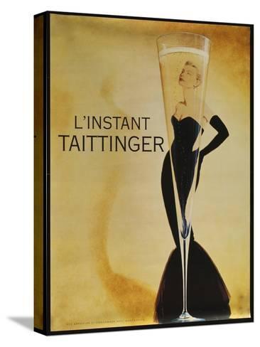 L'instant Taittinger-Vintage Apple Collection-Stretched Canvas Print
