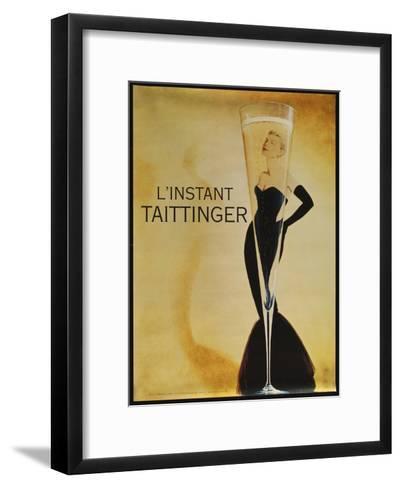 L'instant Taittinger-Vintage Apple Collection-Framed Art Print