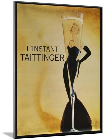 L'instant Taittinger-Vintage Apple Collection-Mounted Giclee Print