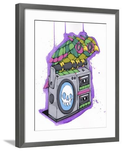 Shared A Beat-Ric Stultz-Framed Art Print