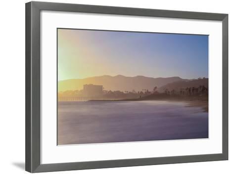 Down the Beach-Chris Moyer-Framed Art Print