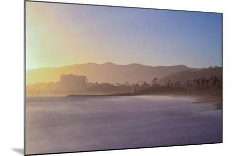 Down the Beach-Chris Moyer-Mounted Photographic Print