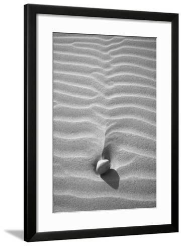 Sand Wind and Light No 2 BW-Istv?n Nagy-Framed Art Print