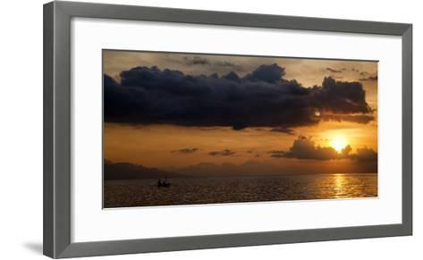 Panorama Sunset No 1-Istv?n Nagy-Framed Art Print