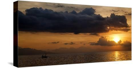 Panorama Sunset No 1-Istv?n Nagy-Stretched Canvas Print