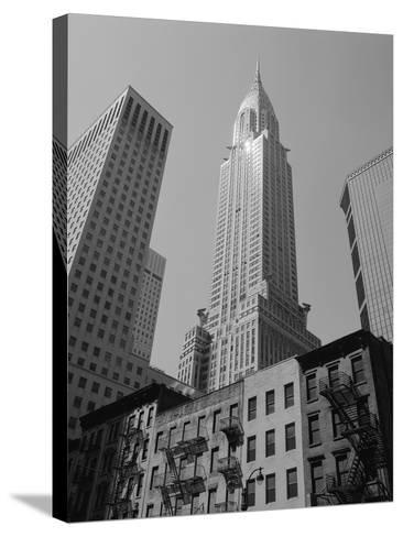 Chrysler Building-Chris Bliss-Stretched Canvas Print