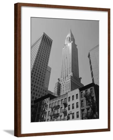Chrysler Building-Chris Bliss-Framed Art Print