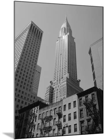 Chrysler Building-Chris Bliss-Mounted Photographic Print