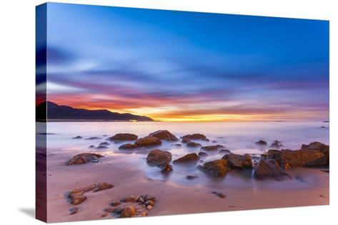 Mussel Shoals Morning-Chris Moyer-Stretched Canvas Print