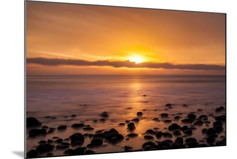 Pacific Sunset-Chris Moyer-Mounted Photographic Print
