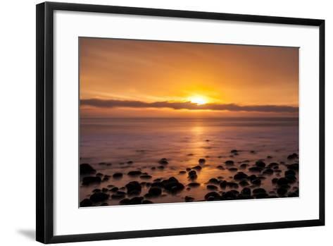 Pacific Sunset-Chris Moyer-Framed Art Print