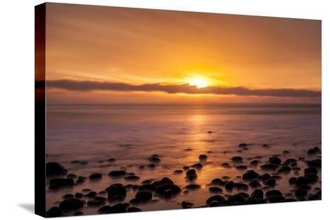 Pacific Sunset-Chris Moyer-Stretched Canvas Print