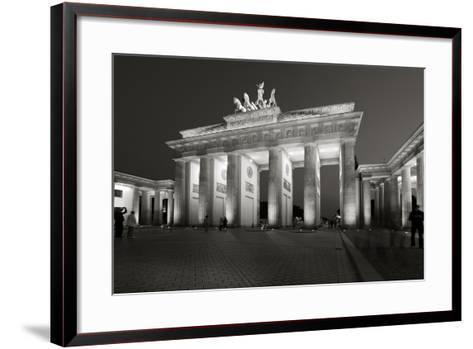 Brandenburg Tor-Chris Bliss-Framed Art Print