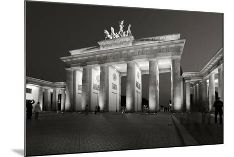 Brandenburg Tor-Chris Bliss-Mounted Photographic Print