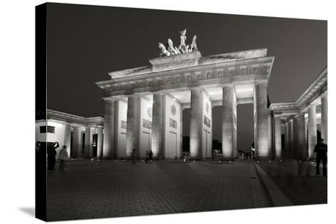Brandenburg Tor-Chris Bliss-Stretched Canvas Print
