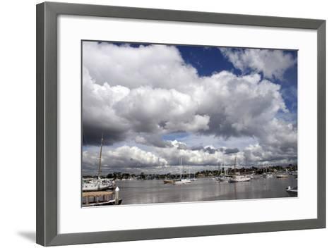 Newport Storm 1-Chris Bliss-Framed Art Print