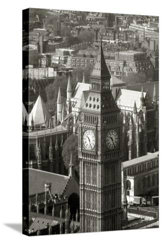 Big Ben View II-Chris Bliss-Stretched Canvas Print