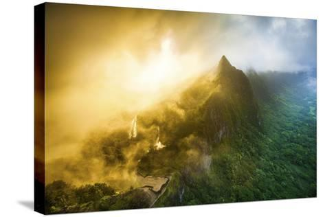 Pali Mist-Cameron Brooks-Stretched Canvas Print