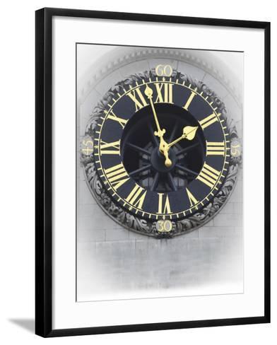 London Clock 3-Chris Bliss-Framed Art Print