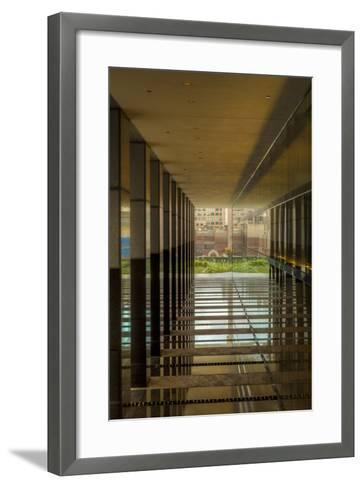 Brick View Downtown-Chris Moyer-Framed Art Print