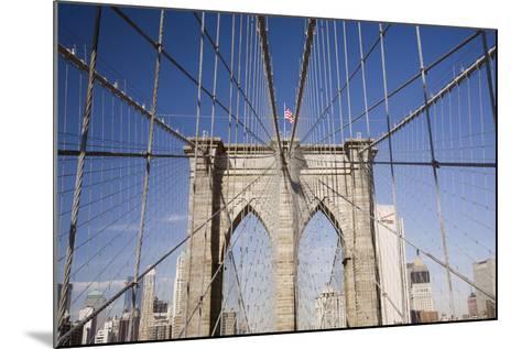 Brooklyn Bridge #2, New York City, New York 08-Monte Nagler-Mounted Photographic Print