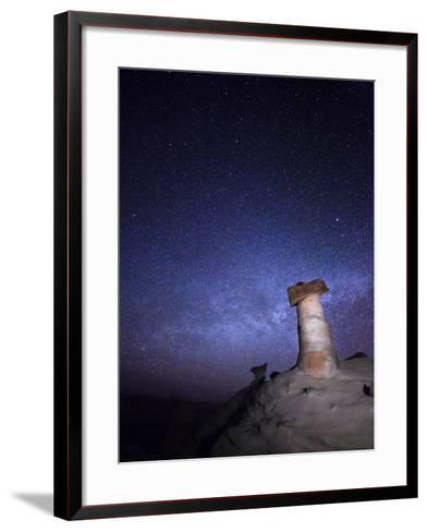 Starry Night in Arizona I-Moises Levy-Framed Art Print