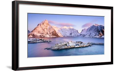 Sakrisoy Overlook-Michael Blanchette Photography-Framed Art Print