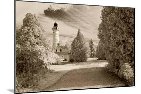 Cana Island Lighthouse, Door County, Wisconsin '12-Monte Nagler-Mounted Photographic Print