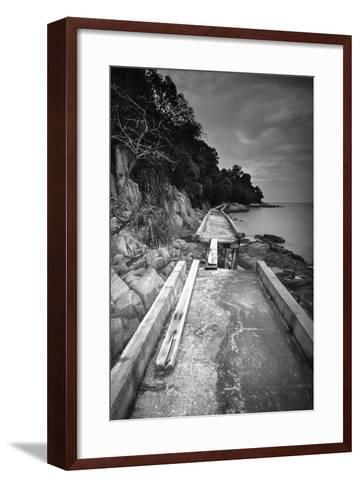 Fragmented-Michael de Guzman-Framed Art Print