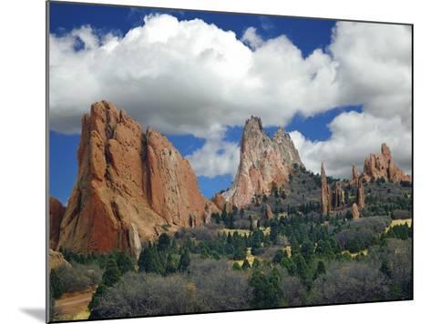 Garden of the Gods, Colorado Springs, Colorado 96-Monte Nagler-Mounted Photographic Print