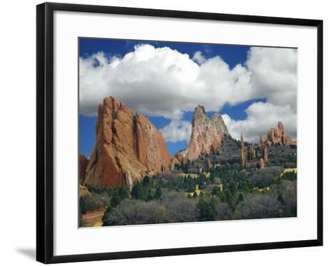Garden of the Gods, Colorado Springs, Colorado 96-Monte Nagler-Framed Art Print