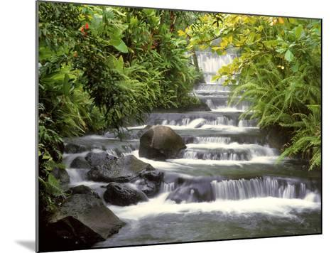 Terraced Falls-Monte Nagler-Mounted Photographic Print