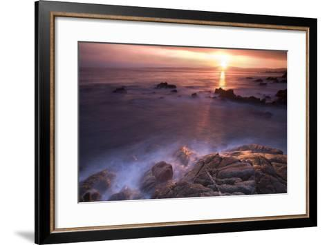 Rocas En Amanecer-Moises Levy-Framed Art Print