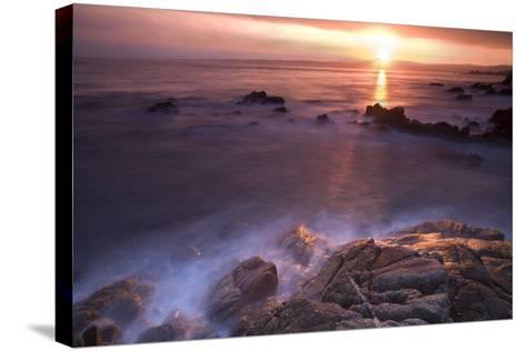 Rocas En Amanecer-Moises Levy-Stretched Canvas Print