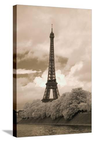 Eiffel Tower #6, Paris, France 07-Monte Nagler-Stretched Canvas Print