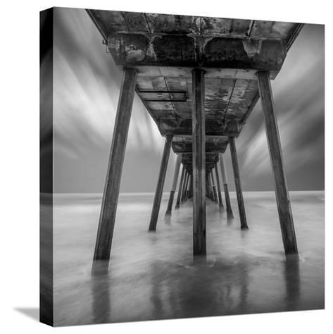 Muelle Triangular Flat-Moises Levy-Stretched Canvas Print