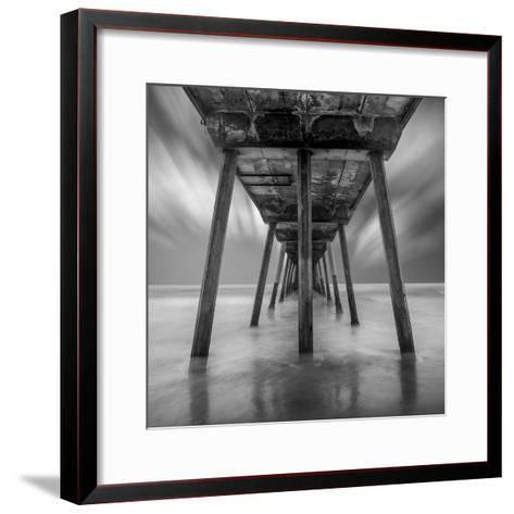 Muelle Triangular Flat-Moises Levy-Framed Art Print